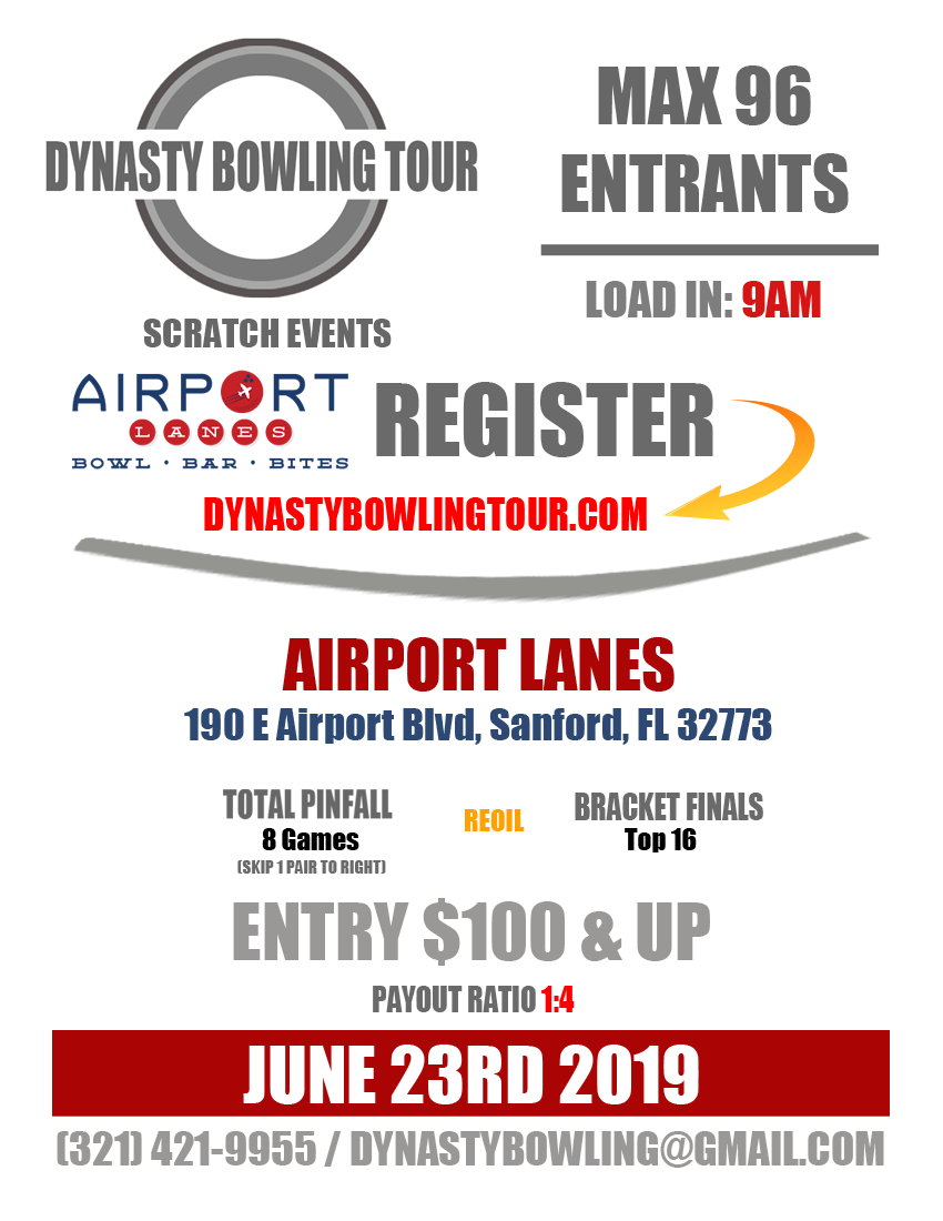 Dynasty Bowling Tour 2019