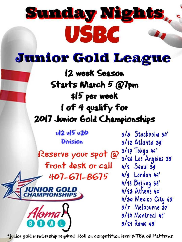 Junior Gold League