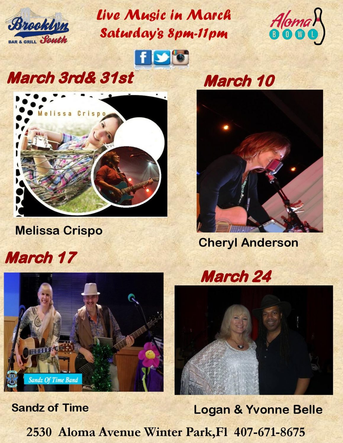 March Live Music