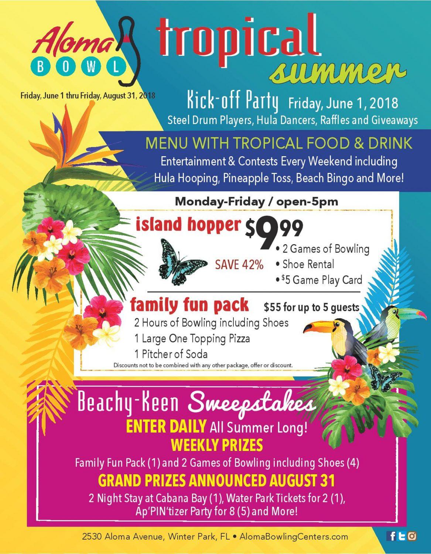 Tropical Summer 2018