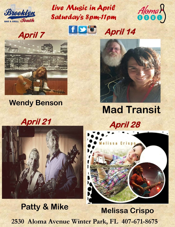 April Live Music