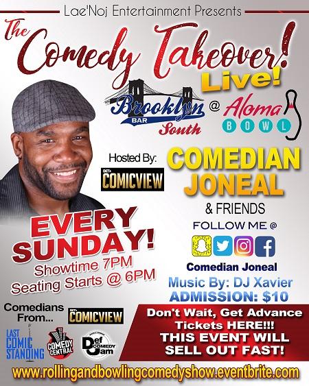 Sunday Comedy Takeover