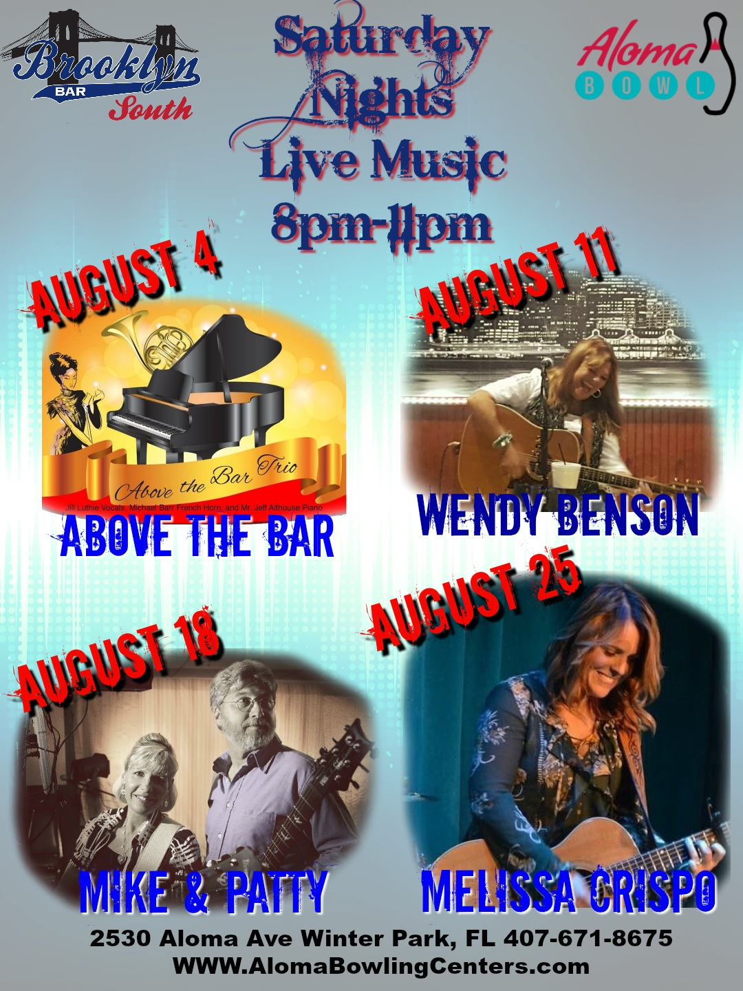 August Live Music