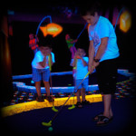 9 Hole Glow in the Dark Miniature Golf Course