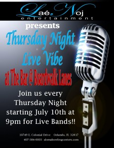 Thursday Night Live Vibe 1
