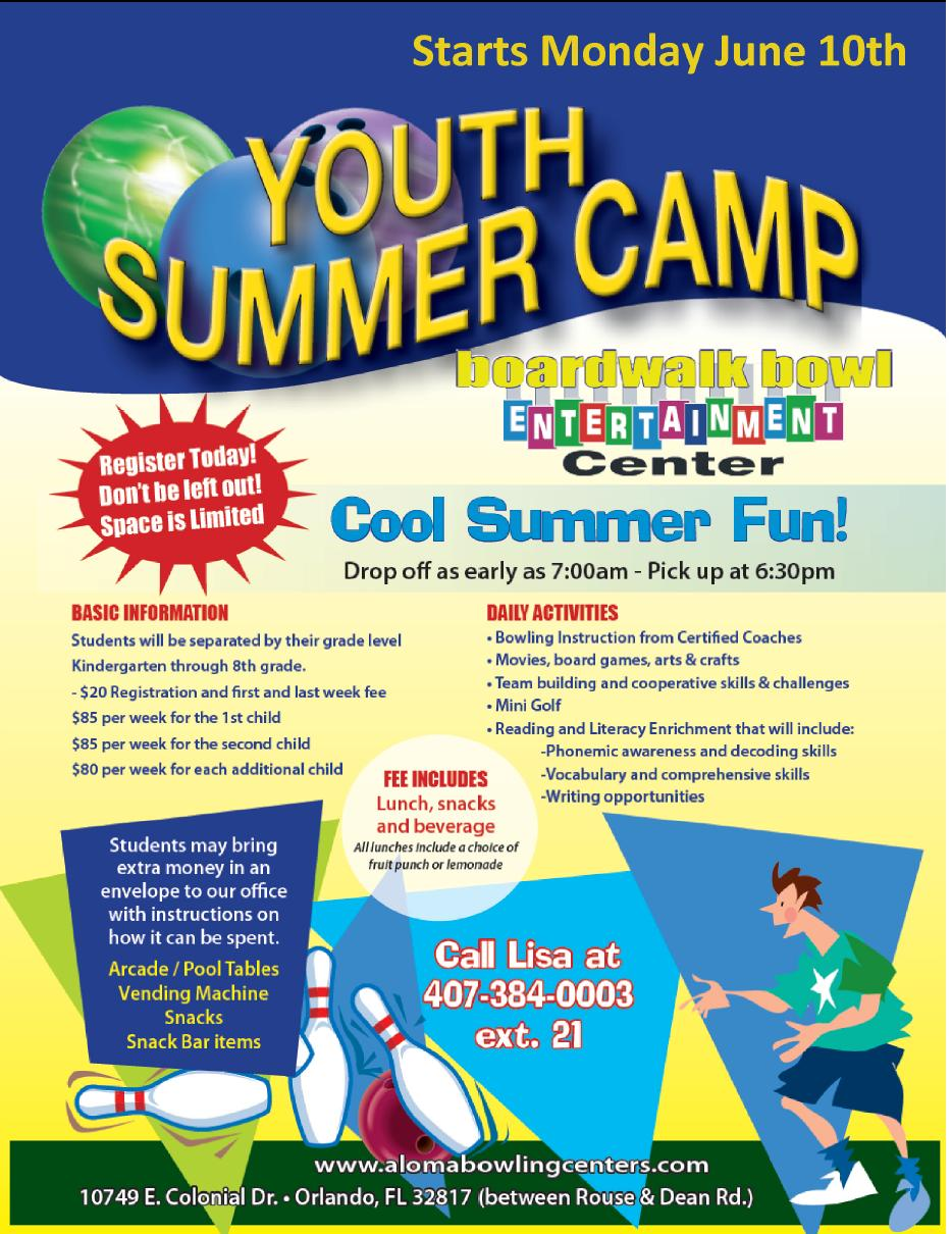 Free Camp Flyer Sample Wdwfotostk - Summer camp brochure template