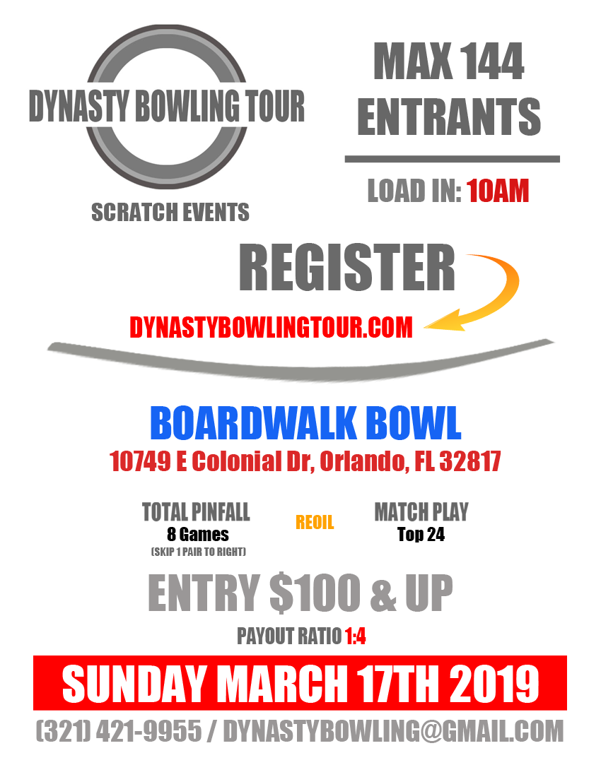 Dynasty Bowling Tour 2019