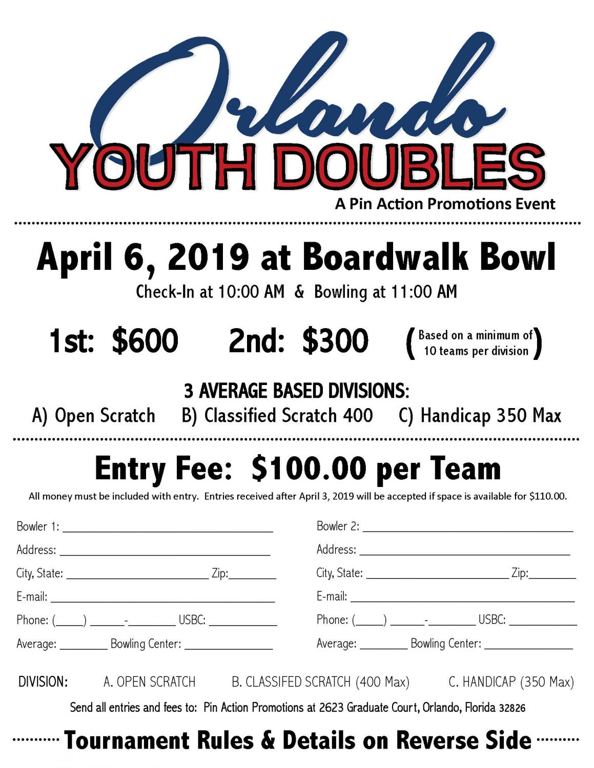 2019 Orlando Youth Doubles
