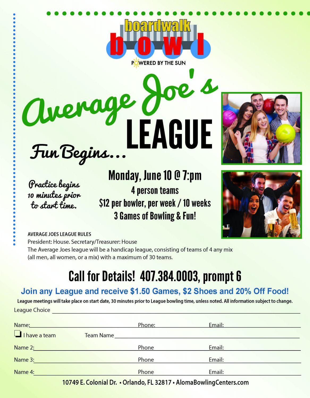 Average Joe's League