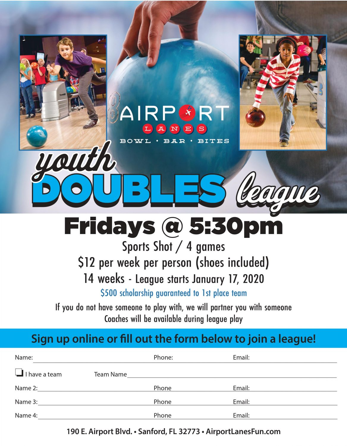 Youth Doubles League