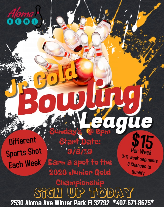 Jr Gold Bowling League