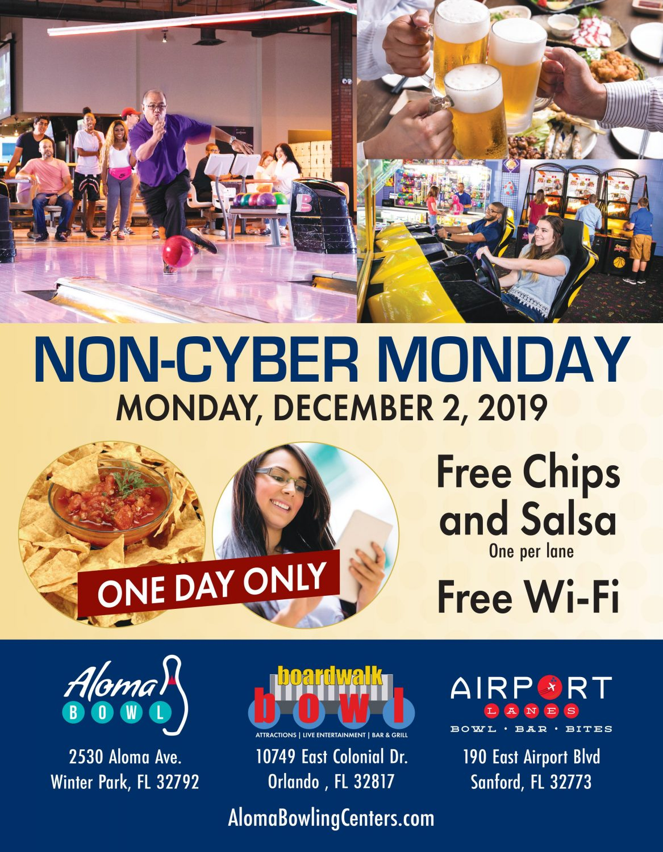Non-Cyber Monday