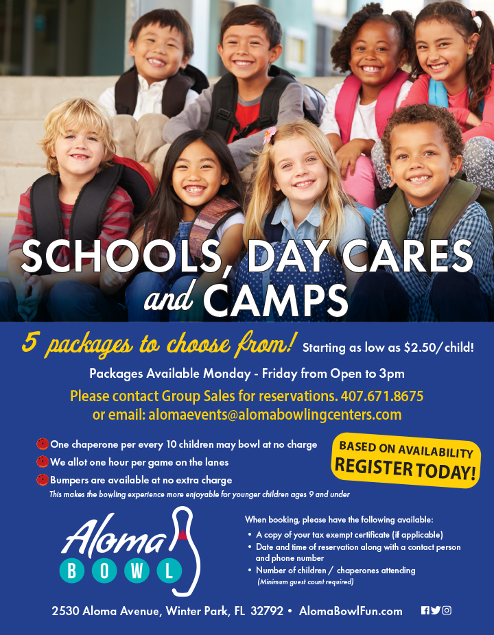 Schools, Day Cares & Camps