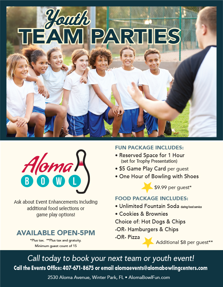 Youth & Team Events